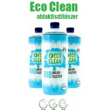 EcoClean Ablaktisztítószer 1000ml-es utántöltő alma illat