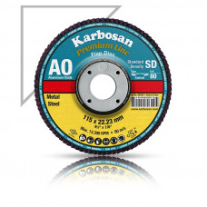 Lamellás csiszoló SD fémre 125 Karbosan