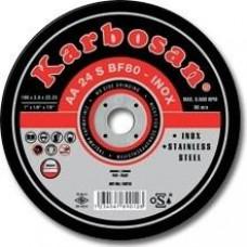 Vágókorong fémre INOX 125x1,0 Karbosan