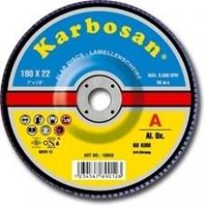 Lamellás csiszoló SD fémre 180 Karbosan