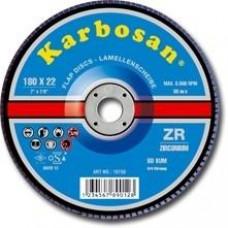 Lamellás csiszoló SD inoxra 115 Karbosan